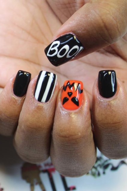 50 Best Halloween Nail Ideas 2020 Cute Halloween Nail Designs