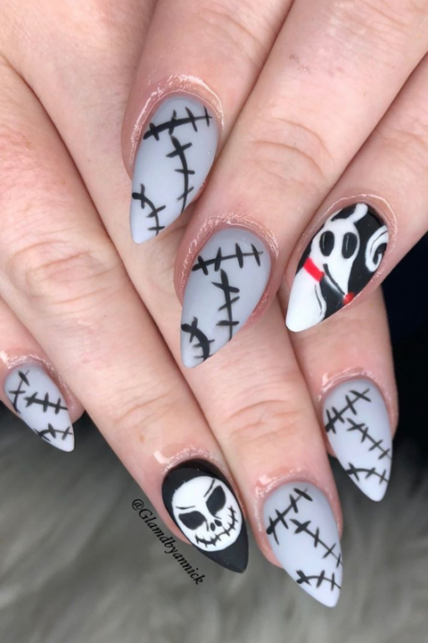 50 Best Halloween Nail Ideas 2020 – Cute Halloween Nail ...