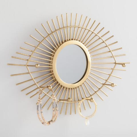 evil eye wall mirror