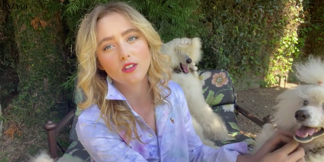 Self isolate with... Kathryn Newton