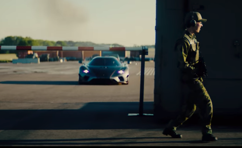 scene from koenigsegg movie