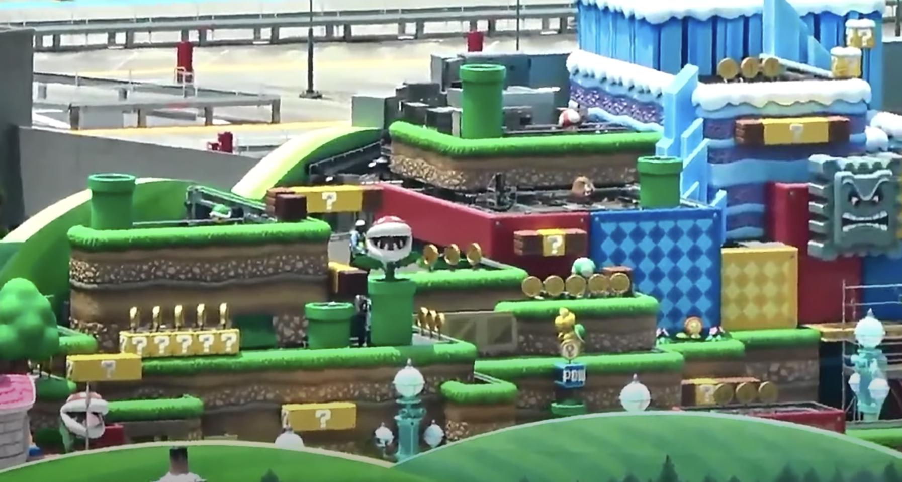 Take A Sneak Peek Of Super Nintendo World At Universal Studios Japan