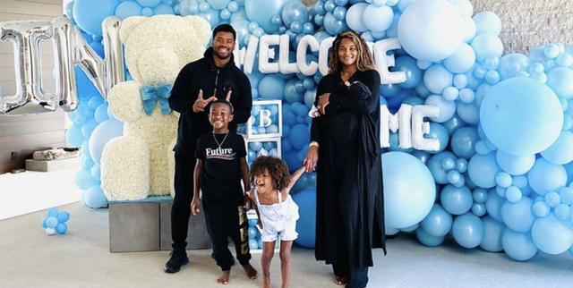 Ciara Russell Wilson Share Adorable Family Photos Of Baby Win