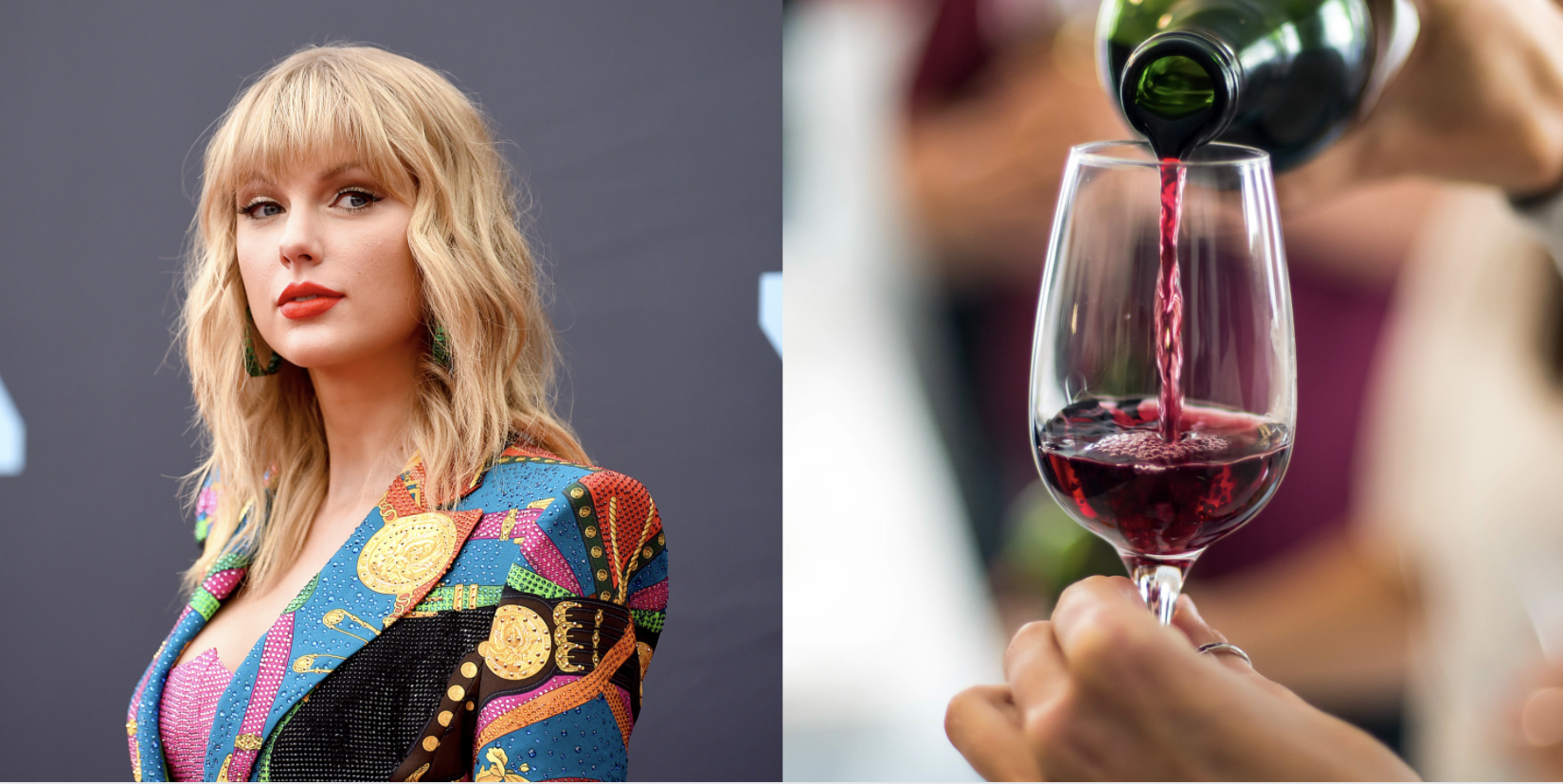 Taylor Swift Suggests Drinking Red Wine While Listening To Folklore