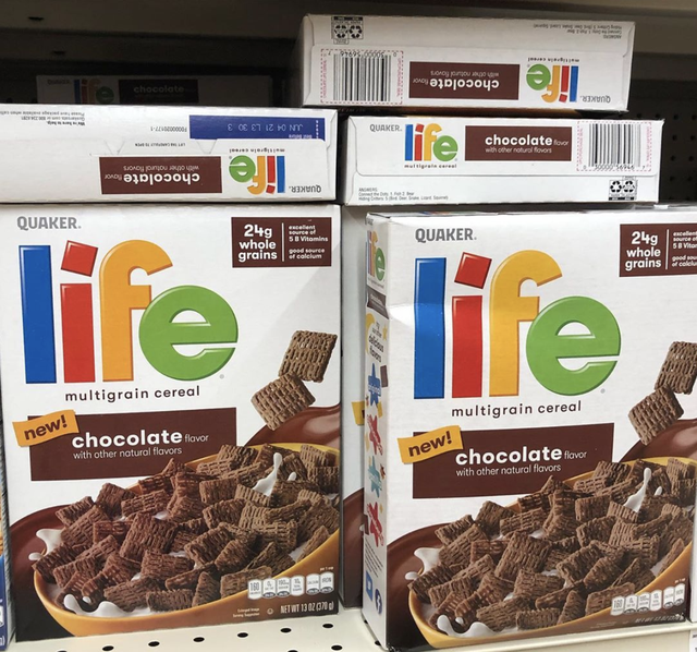 life cereal chocolate