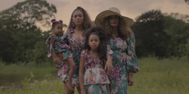 """See Beyoncé's Twins Rumi and Sir Make a Rare Appearance in """"Black Is King"""""""