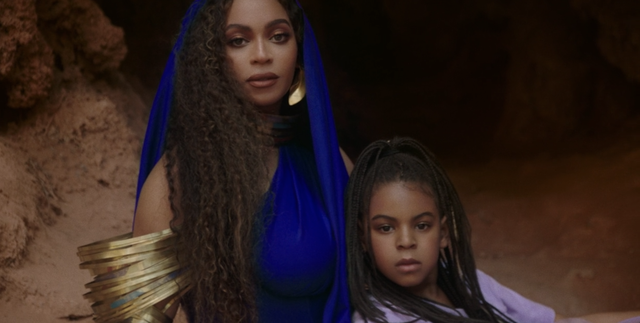 Here's Every Glorious Time Blue Ivy Carter Shows Up In 'Black Is King'