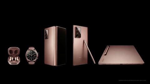 三星samsung推出全新5款galaxy裝置!超美玫瑰金note20、tab s7成2020下半年最大亮點