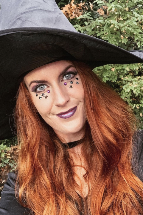 celestial witch makeup