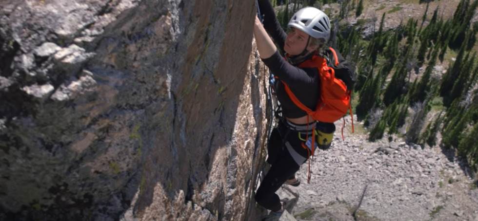 Brie Larson Secretly Climbed Grand Teton and the Video Is Out of Control thumbnail