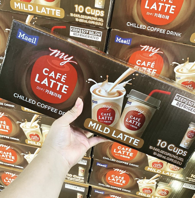 costco sisters cafe latte
