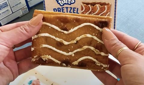 pretzel cinnamon sugar pop tart