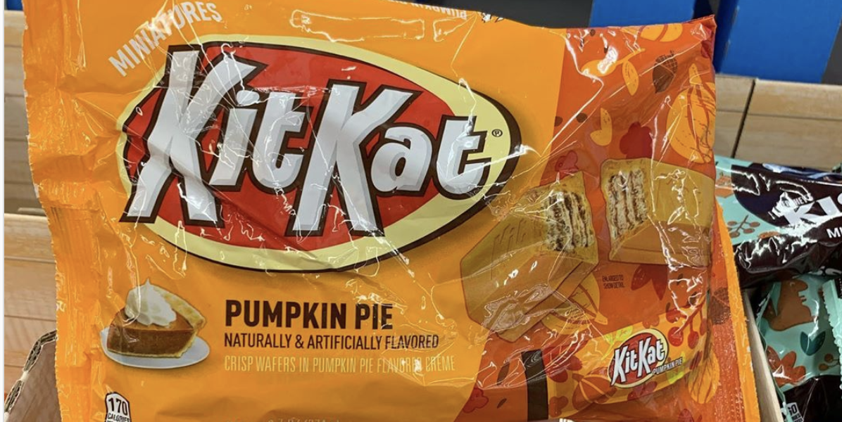Pumpkin Pie Kit Kats Are Officially Back And They Will Be Your Favorite Fall Treat