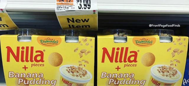nilla pieces and banana pudding
