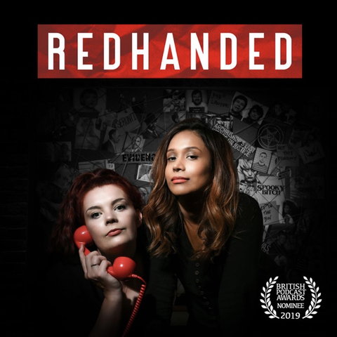 red handed podcast cover
