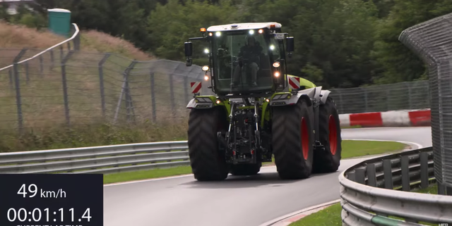 tractor nurburgring