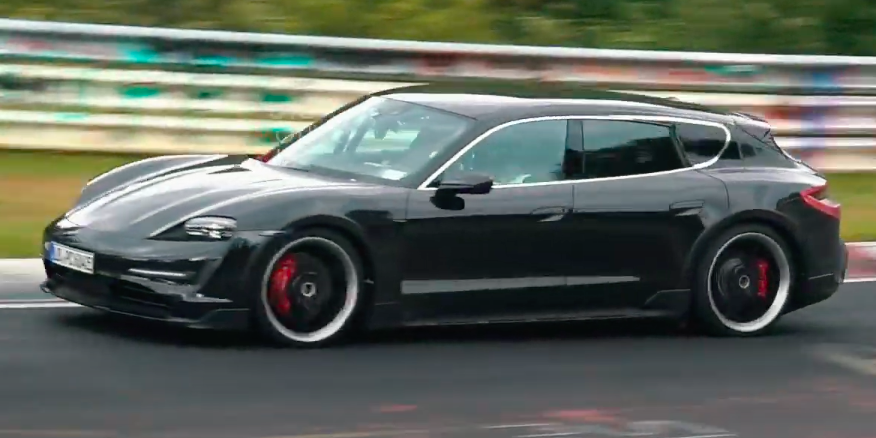 Video Gives Best Look Yet at Porsche Taycan Cross Turismo Wagon