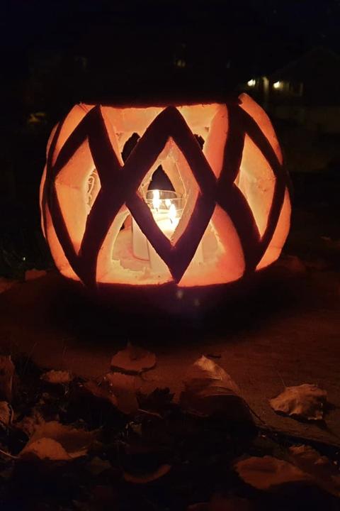 lantern pumpkin