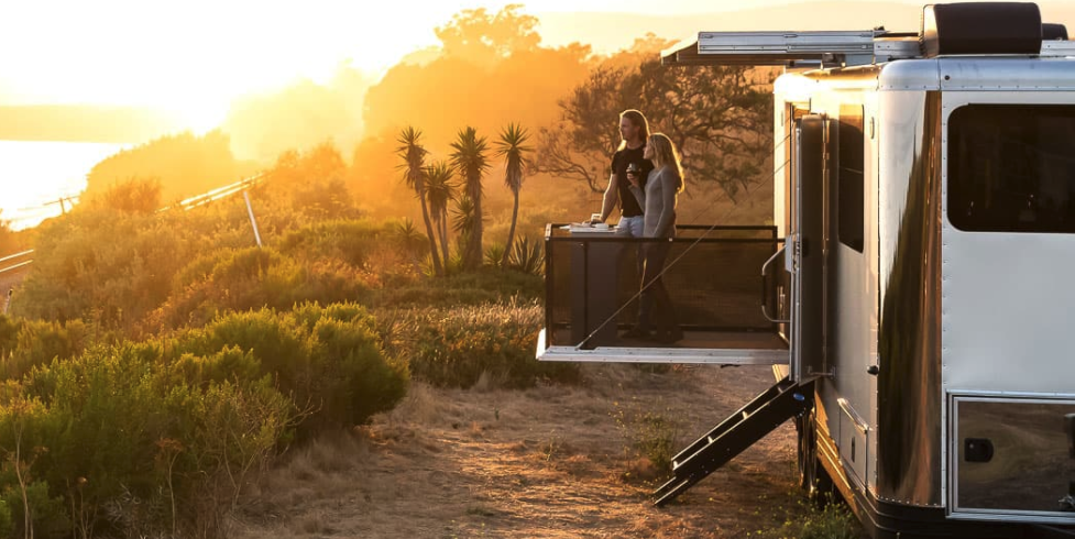 Living Vehicle Luxury Camping Trailers, a Cool Way to Spend $300K