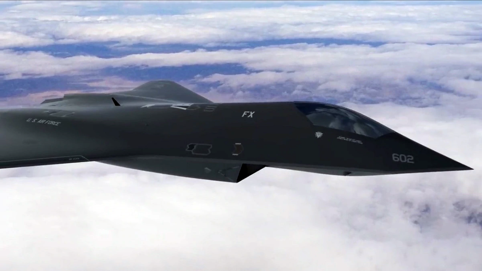 Exclusive: The Air Force's Secret New Fighter Jet Uses F1-Style Engineering