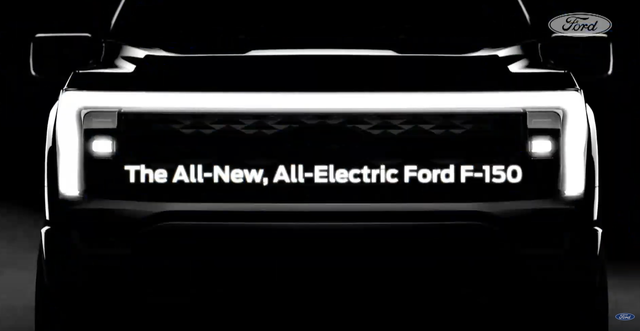 all electric ford f 150