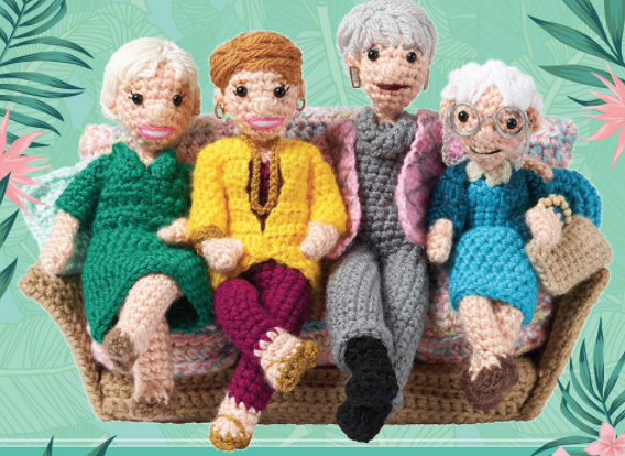 'golden girls' crochet kit
