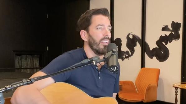 watch drew scott play the guitar