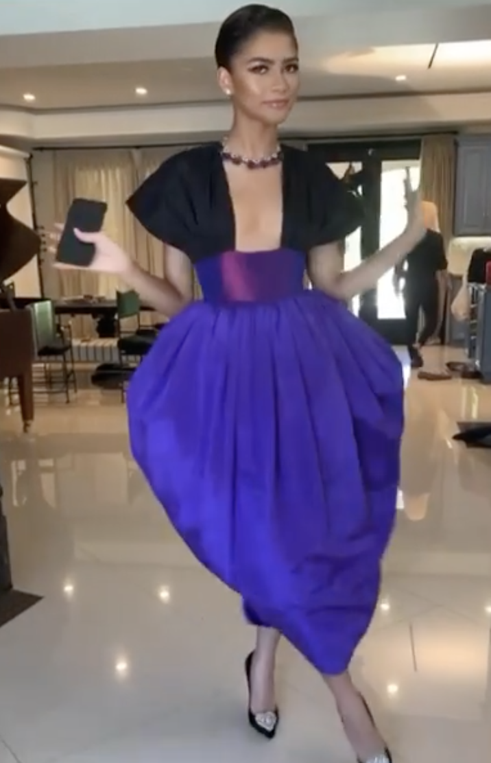 Zendaya Wears Not One but Two Different Outfits on Emmys Night