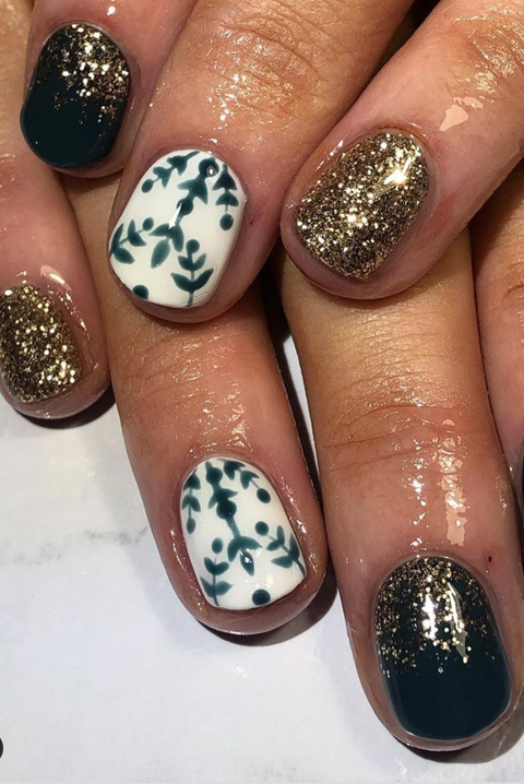 christmas nail art offtoneverlandnails