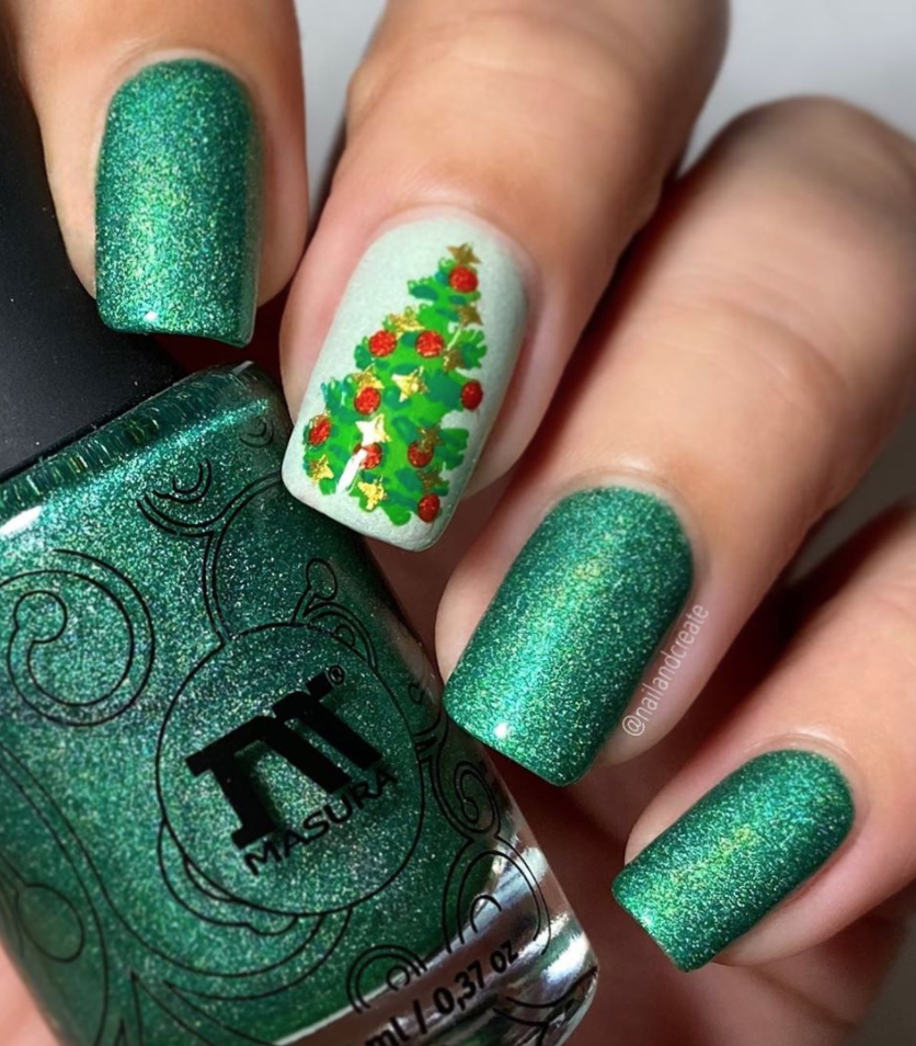 42 festive christmas nail ideas 2020 christmas nail art ideas 42 festive christmas nail ideas 2020