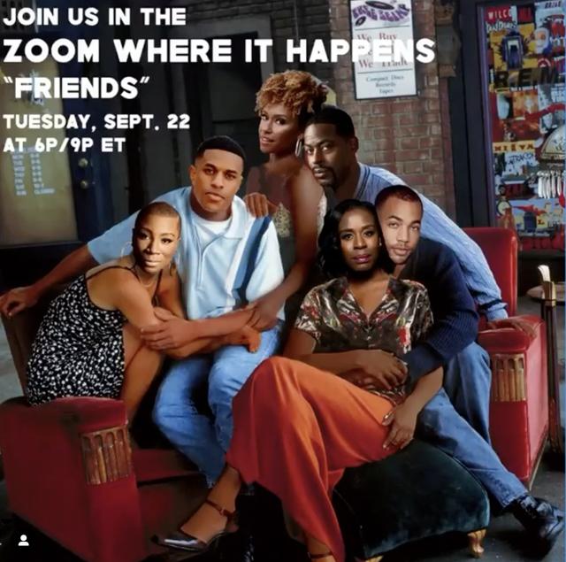 all black friends cast