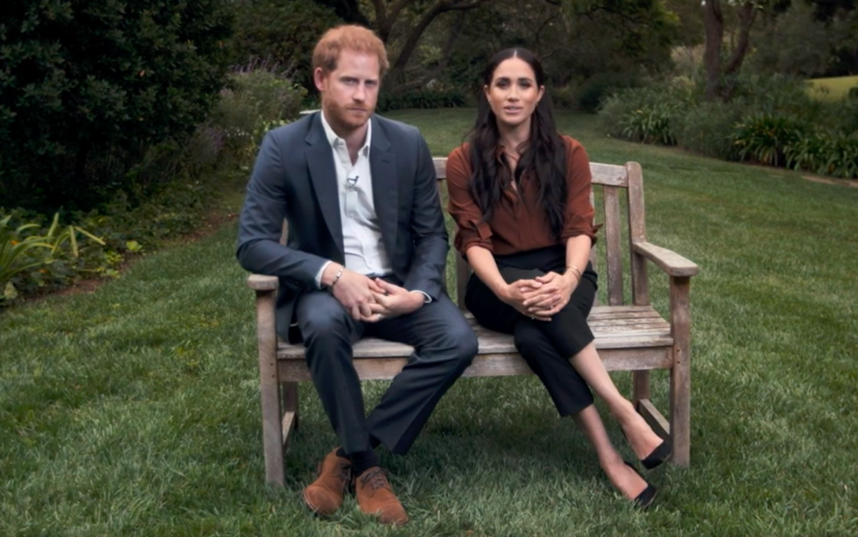 The Duke and Duchess of Sussex encourage Americans to vote