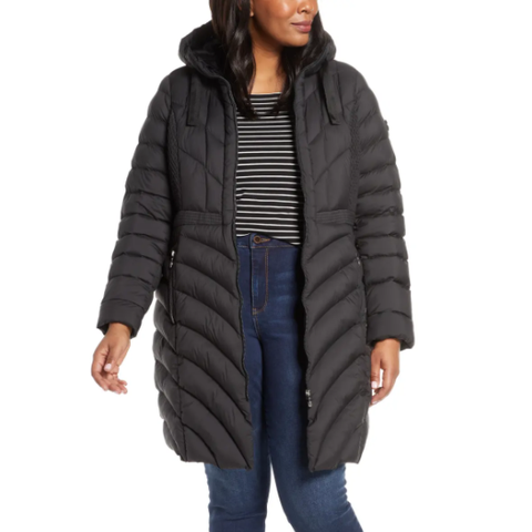 bernardo plus size winter coat