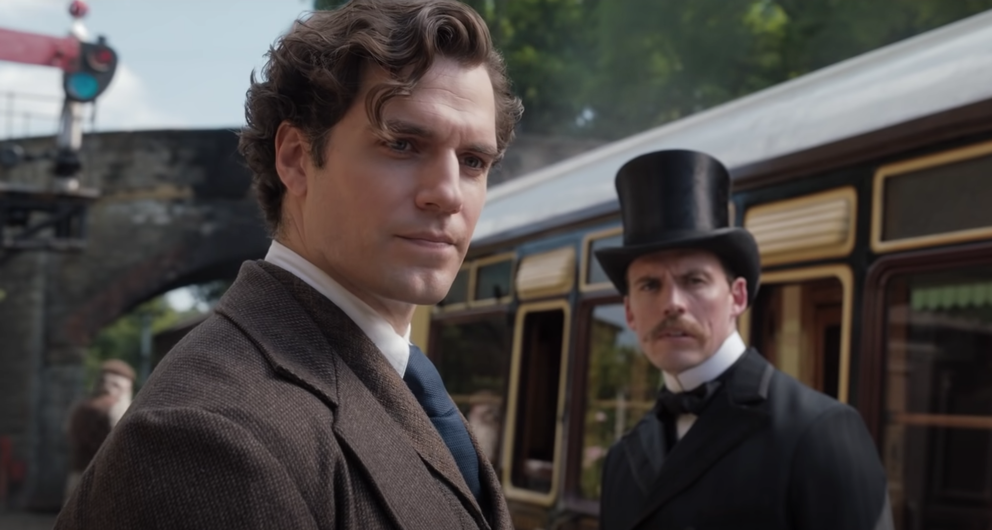Is Henry Cavill Too Hot to Play Sherlock Holmes in 'Enola Holmes'?