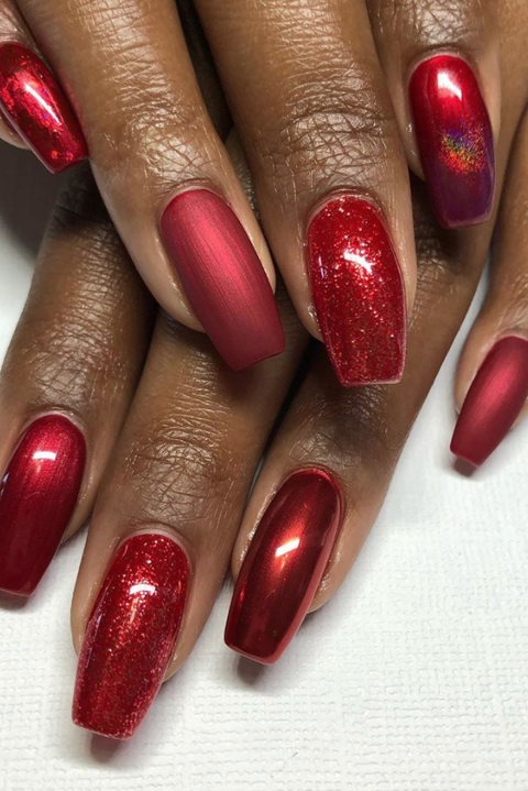 42 festive christmas nail ideas 2020 christmas nail art ideas 42 festive christmas nail ideas 2020