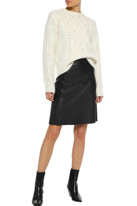 best leather skirt