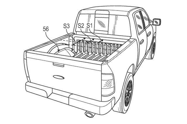 ford f 150 electric patent