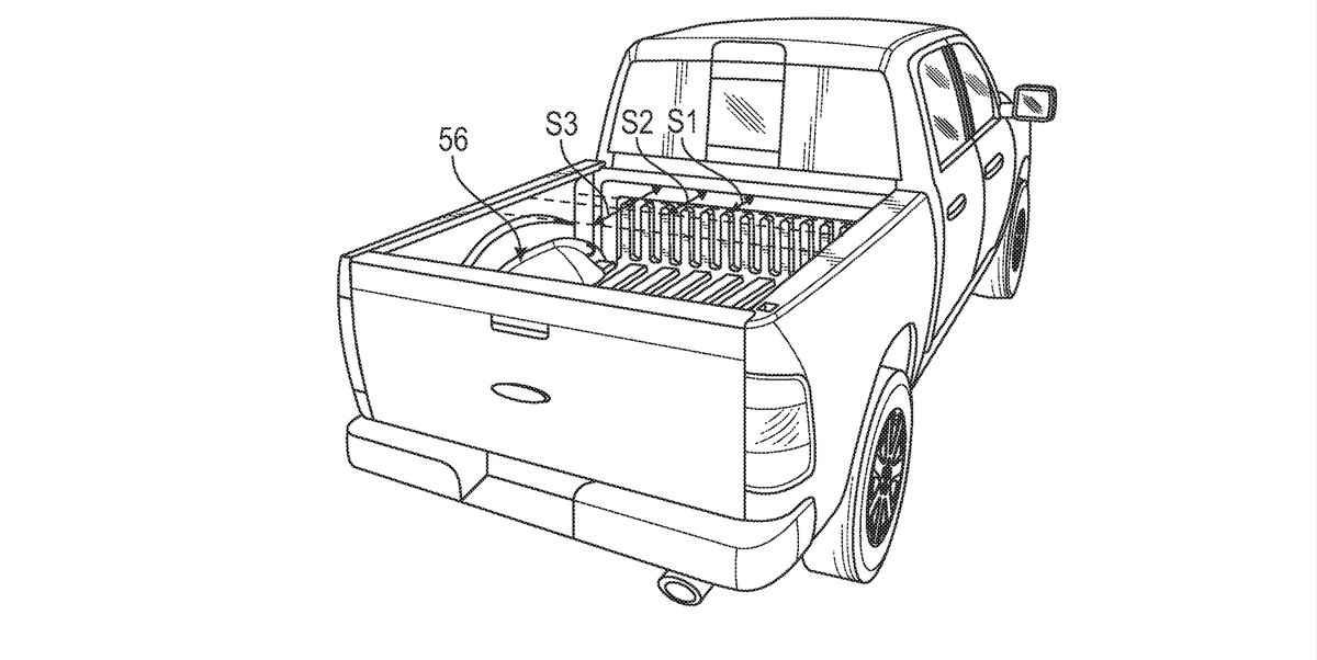 Ford's New Patent Reveals a Genius Plan for the Electric F-150