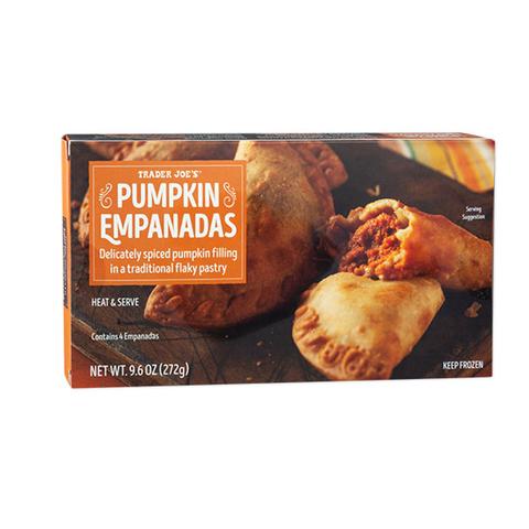 tj pumpkin empanadas