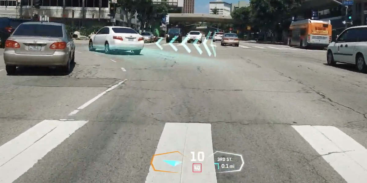 GM, Other Automakers Invest in Startup Projecting Holograms onto Windshields