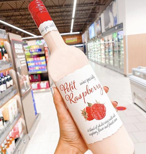 aldi petit raspberry wine