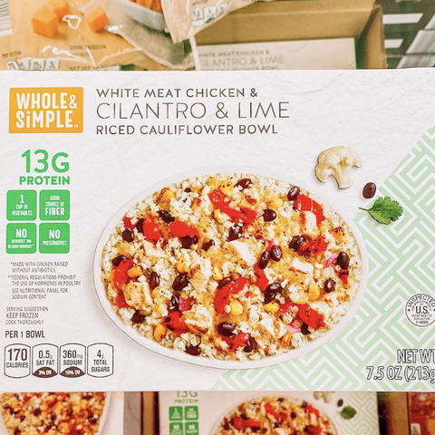 aldi cauliflower bowl