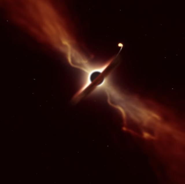 star spaghettification