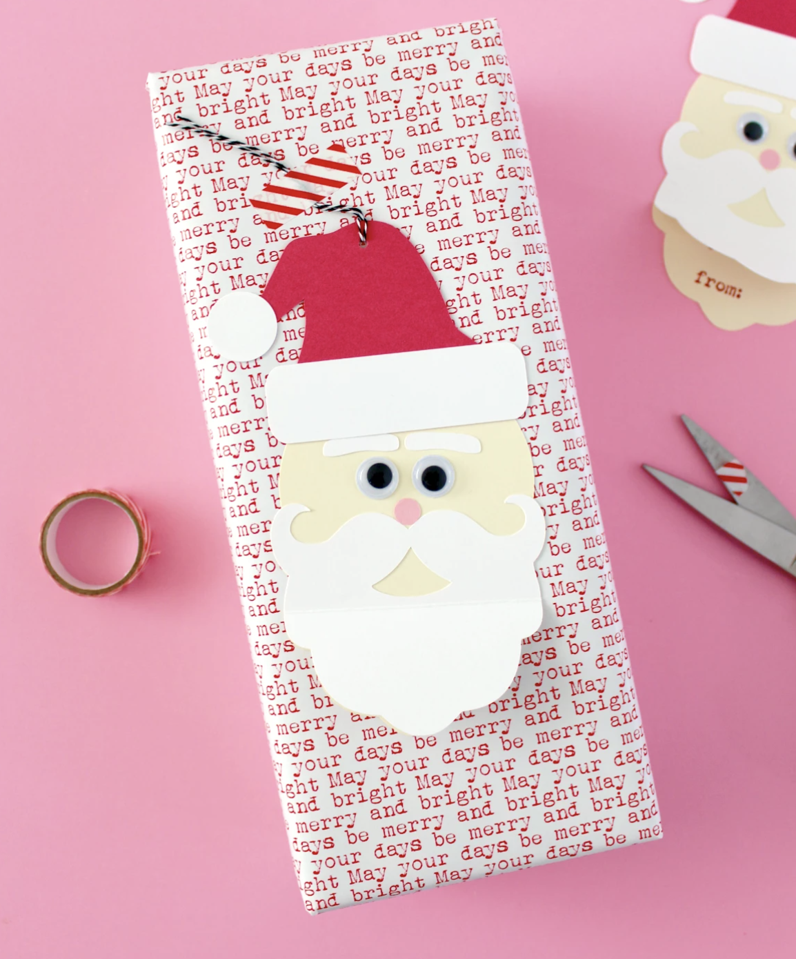 12 DIY Christmas Cards   Unique Christmas Card Ideas