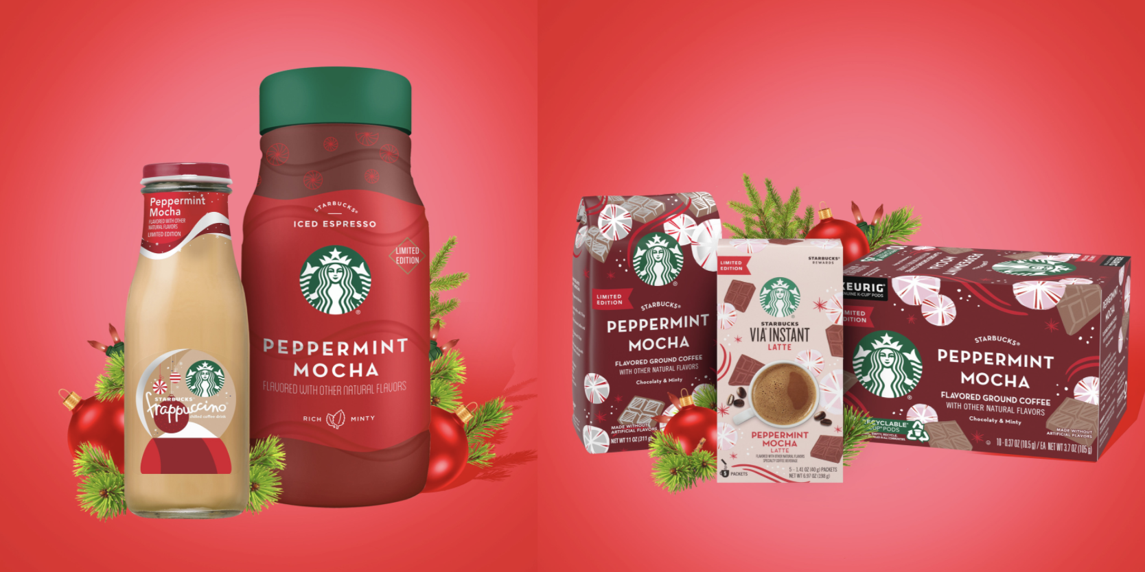 Starbucks Christmas Flavored Kcups 2020 The Starbucks Holiday Line Is Hitting Grocery Stores Soon