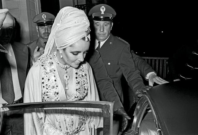 elizabeth taylor lecce 1972