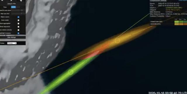 satellites colliding
