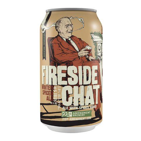 21st amendment brewery fireside chat beer best christmas men's health