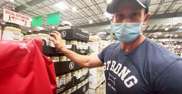 youtuber thomas delauer shopping keto