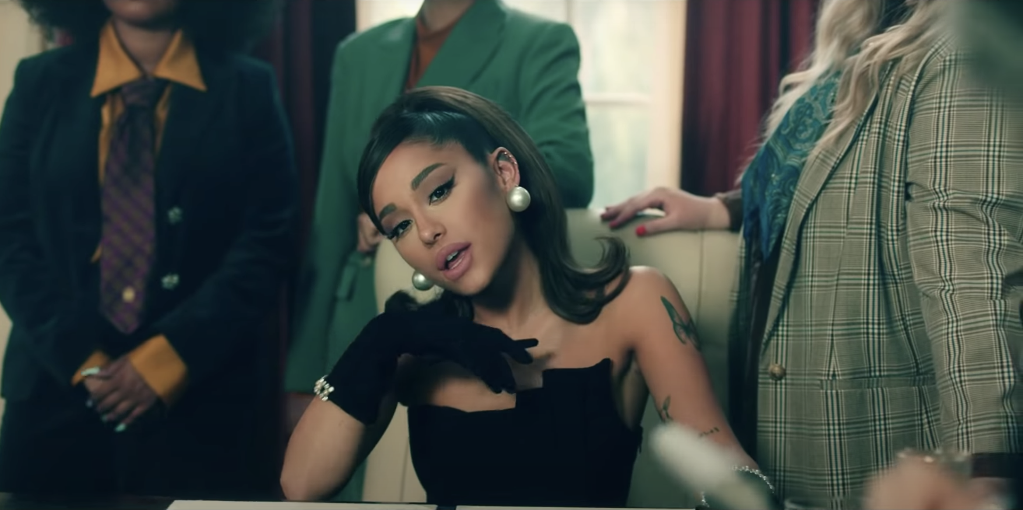 """Ariana Grande's """"Positions"""" Music Video Shows Fashion & Sexuality As Acts  of Politics"""